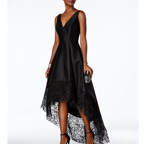 825a81ce9ff Beautiful Betsy   Adam High Low Lace bottom dress
